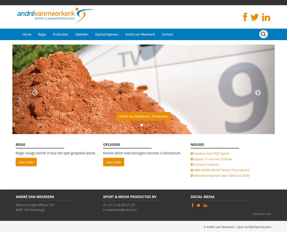 website Andre van Meerkerk