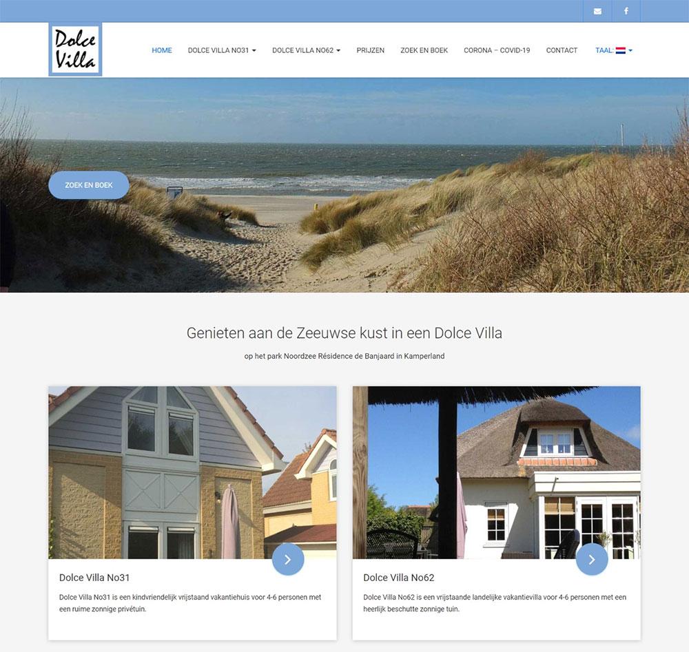 website Dolce Villa