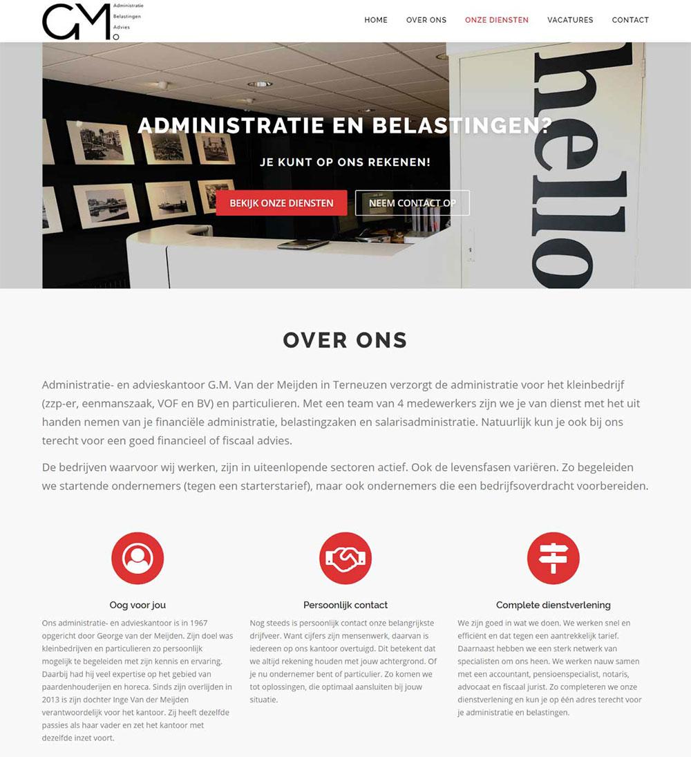 website G.M. van der Meijden