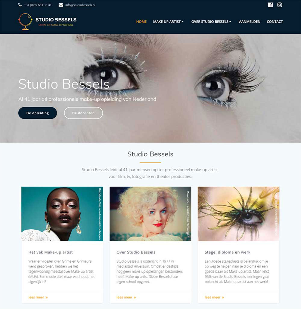 website Studio Bessels