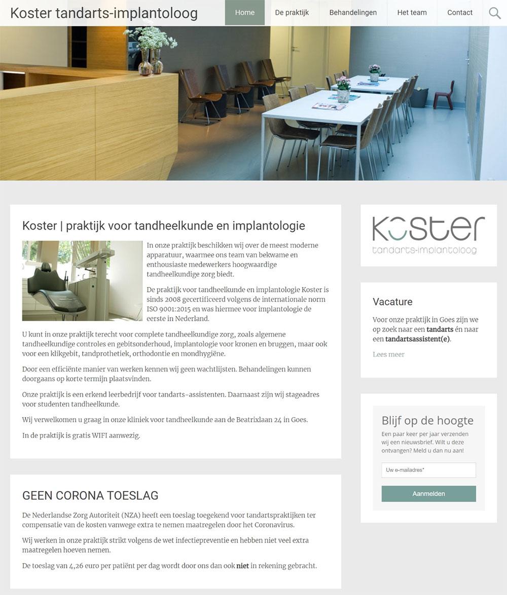 website Tandimplantaten